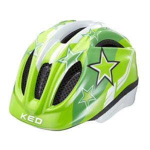 KED Helmsysteme Meggy Green Stars