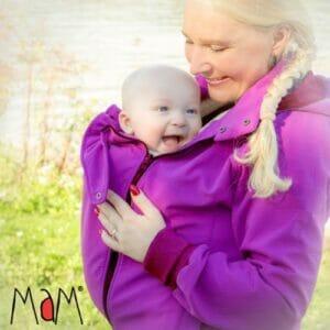 MaM Softshell Jacke Violet Chimera