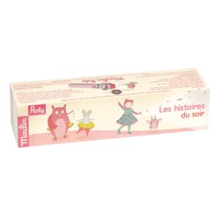 Moulin Roty Geschichten-Taschenlampe rosa-pink