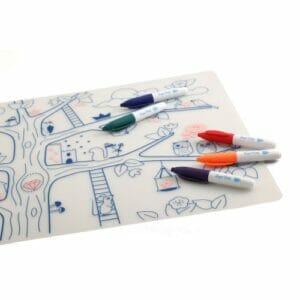 Super Petit Silikon Zeichnungsmatte Zauberbaum