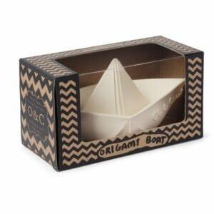 Oli & Carol – Origami Boot weiss