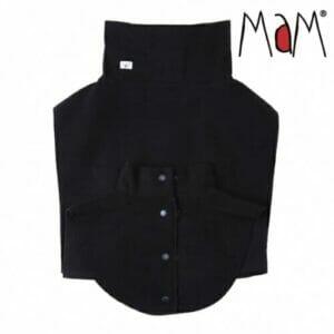 MaM Mutter-Kind Schal schwarz