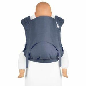 Fidella FlyClick Plus Babytrage Chevron jeansblau