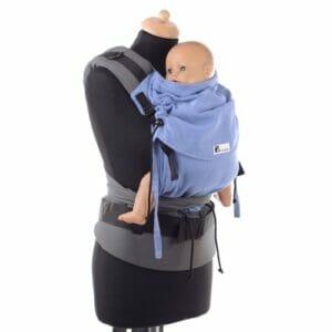 Babyroo Huckepack Halfbuckle Toddlersize Testtrage