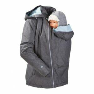 Mamalila Winterjacke für zwei ice-grey