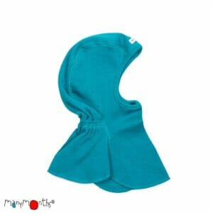 ManyMonths Elefanten Mütze Royal Turquoise