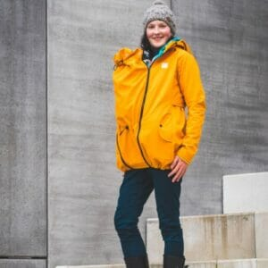 Made by Zuz Softshell Parka senfgelb