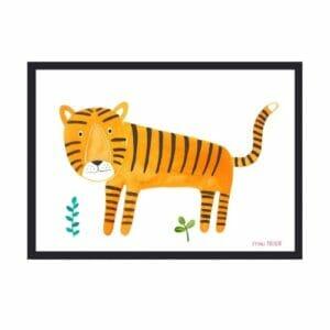 Frau Ottilie – Print DIN A4 Tiger