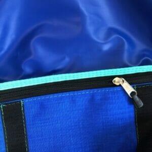 Hüfttasche Bagaboo aus Yaro Dandy Aqua Grad blau