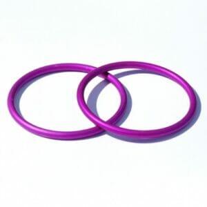 Slingringe violett large