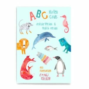 Frau Ottilie ABC Karten-Set