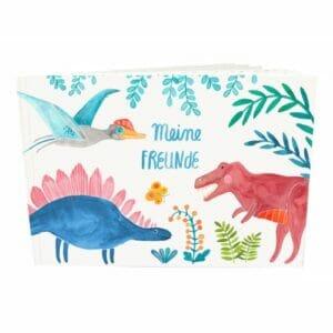 Frau Ottilie – Erinnerungsbuch *Meine Freunde – Dinosaurier*
