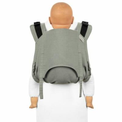 Onbuhimo V2 – Rückentrage – Chevron – graugrün – Toddler
