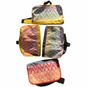 Hüfttasche XL Bagaboo aus Yaro Autumn Rainbow